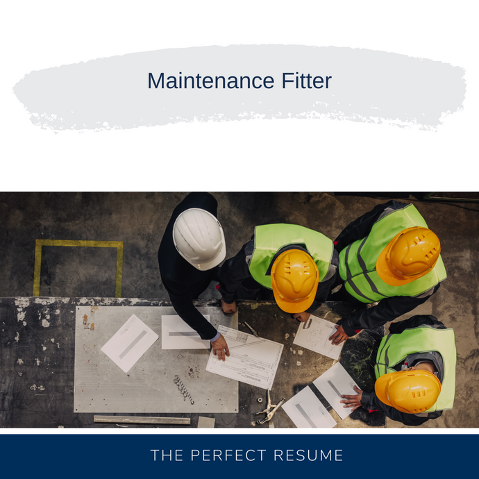 Maintenance Fitter Resume Writing Services