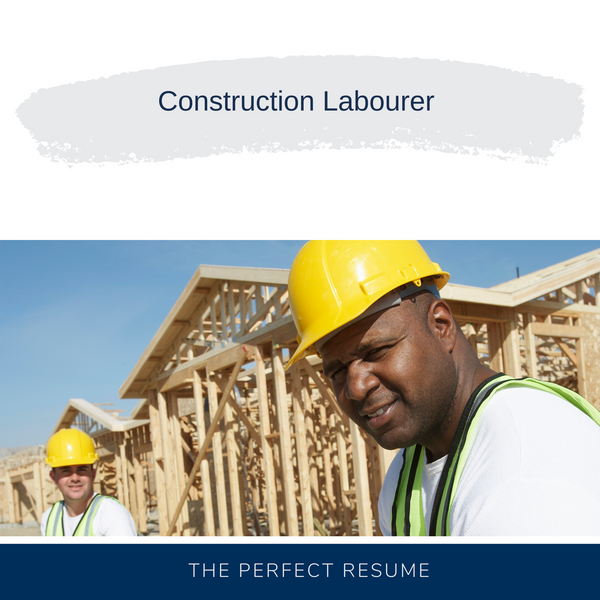 Construction Labourer Resume Writing Services