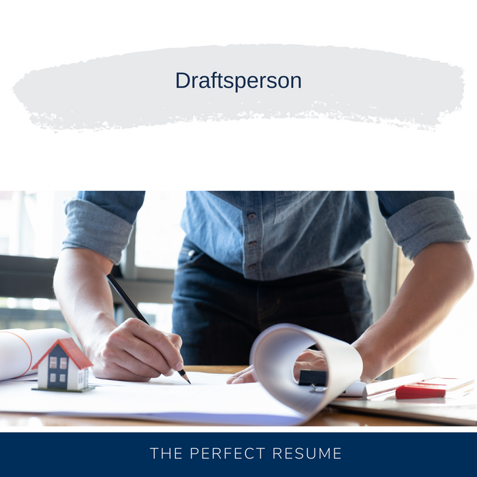 Draftsperson Resume Writing Services