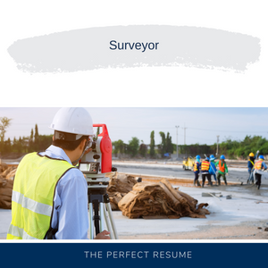 Surveyor Resume Writing Services