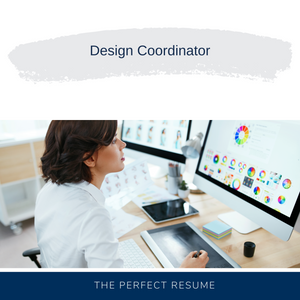 Design Coordinator Resume Writing Services