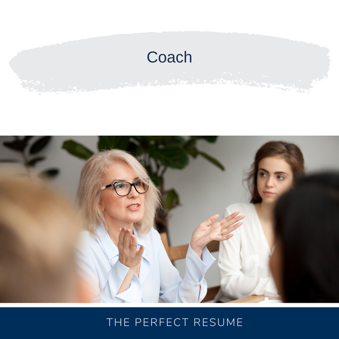 Coach Resume Writing Services