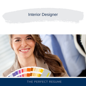 Interior Designer Resume Writing Services
