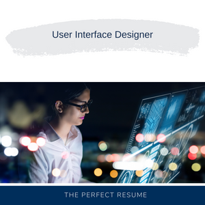 User Interface Designer Resume Writing Services