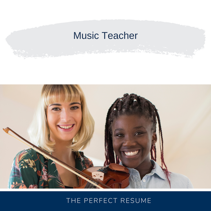 Music Teacher Resume Writing Services