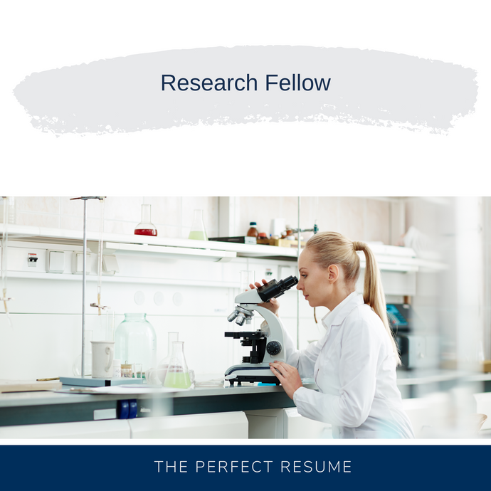 Research Fellow Resume Writing Services