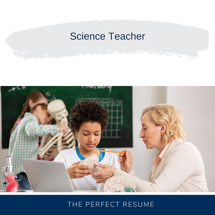 Science Teacher Resume Writing Services