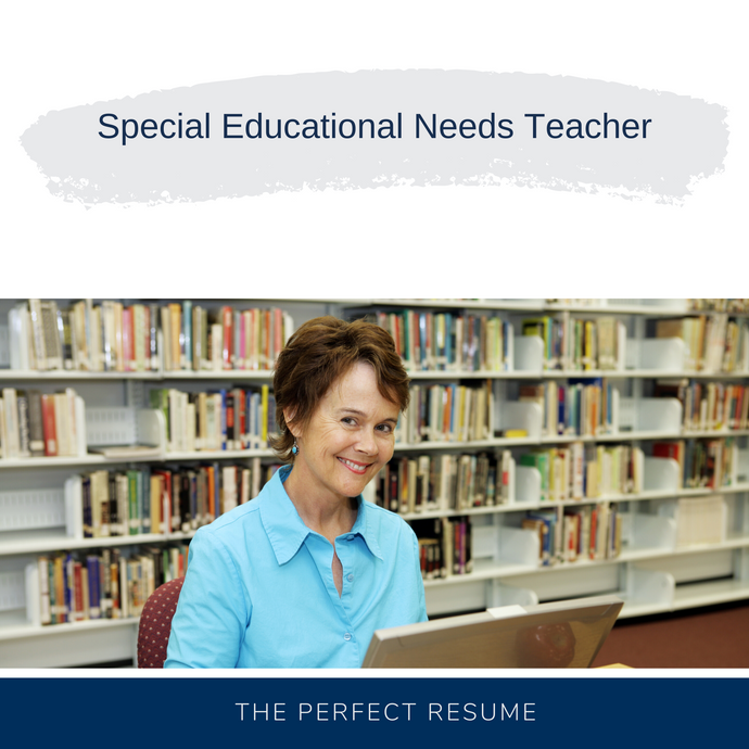 Special Educational Needs Teacher Resume Writing Services