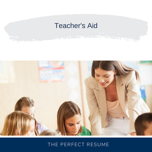 Teacher's Aid Resume Writing Services