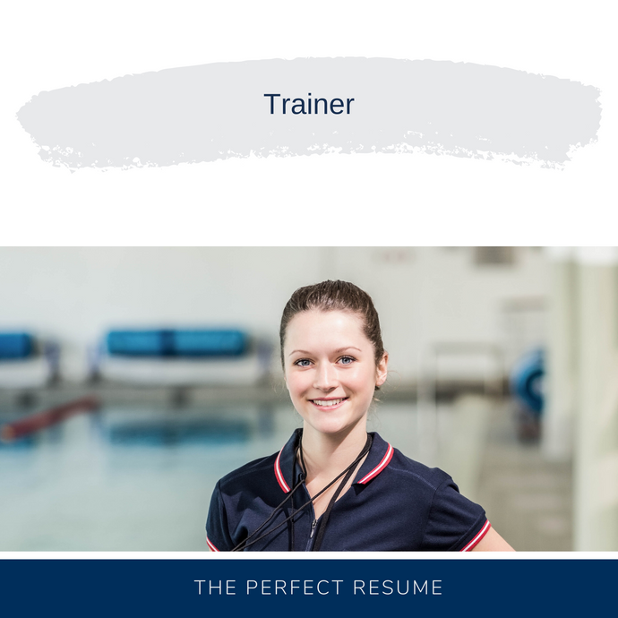 Trainer Resume Writing Services