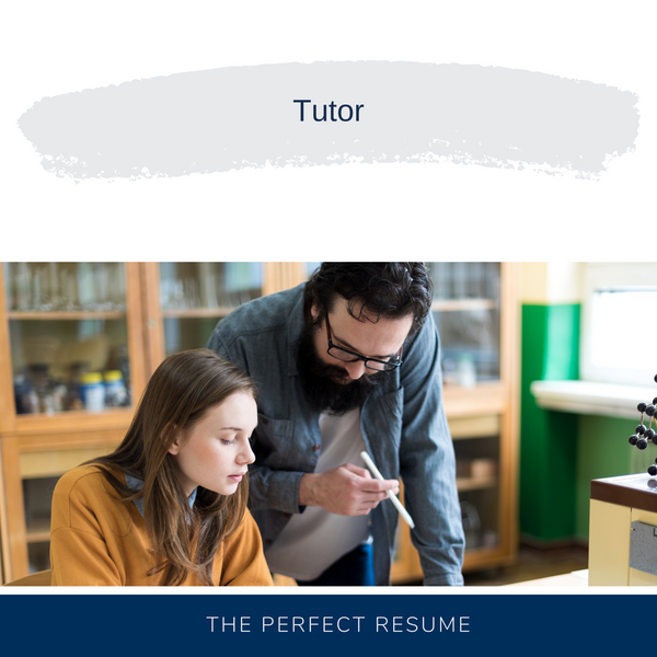 Tutor Resume Writing Services