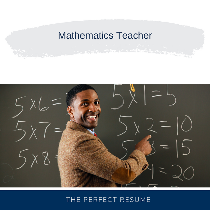Mathematics Teacher Resume Writing Services