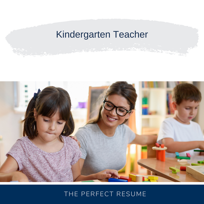 Kindergarten Teacher Resume Writing Services