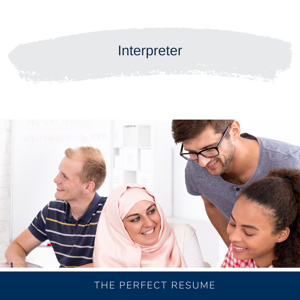 Interpreter Resume Writing Services