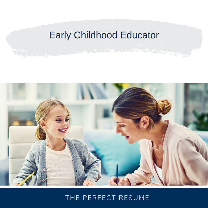 Early Childhood Educator Resume Writing Services