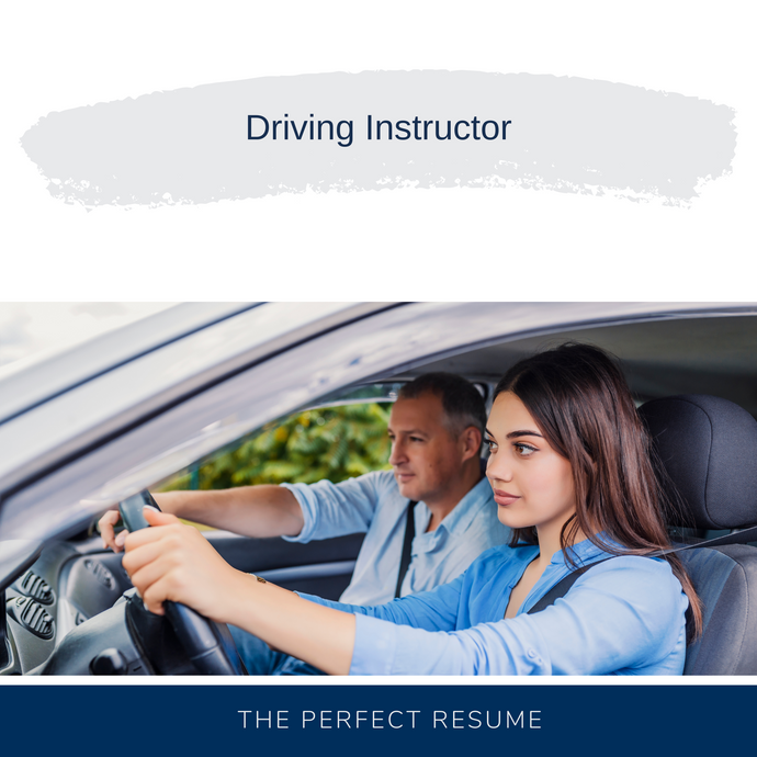Driving Instructor Resume Writing Services