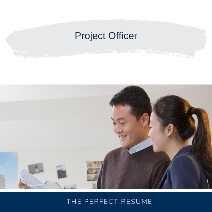 Project Officer Resume Writing Services