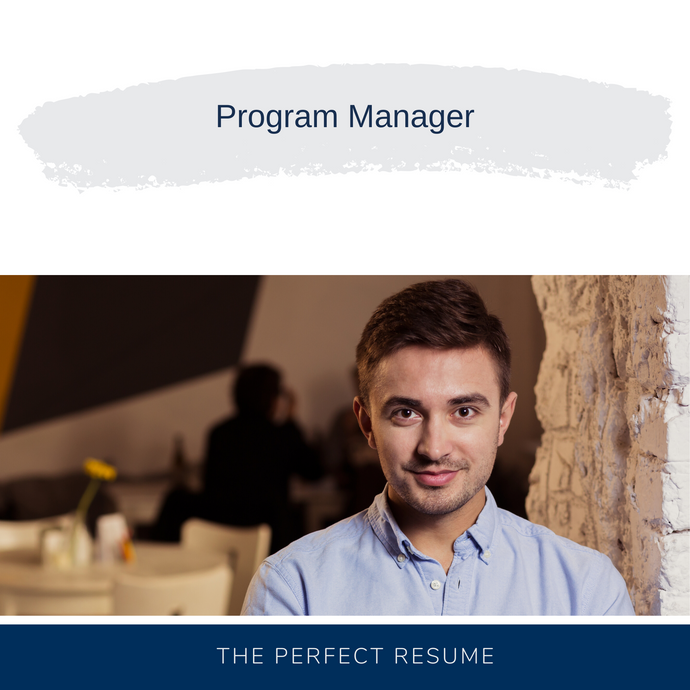 Program Manager Resume Writing Services