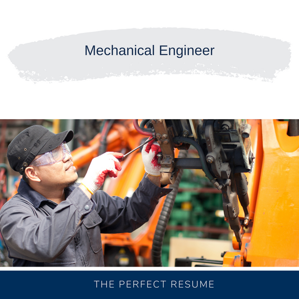 Mechanical Engineer Resume Writing Services