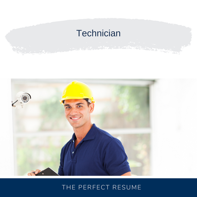 Technician Resume Writing Services