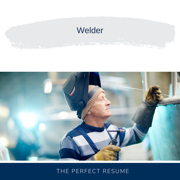 Welder Resume Writing Services