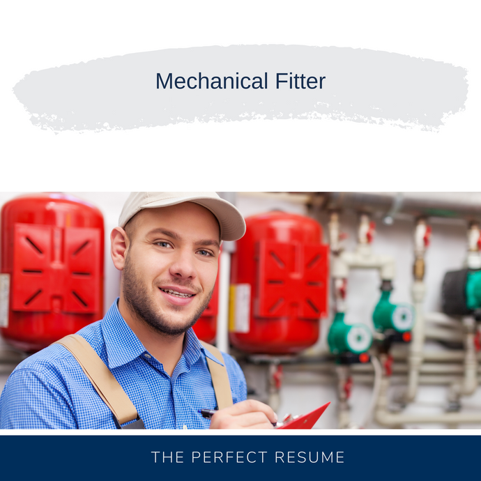Mechanical Fitter Resume Writing Services