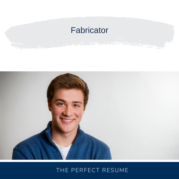 Fabricator Resume Writing Services