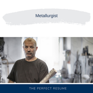 Metallurgist Resume Writing Services