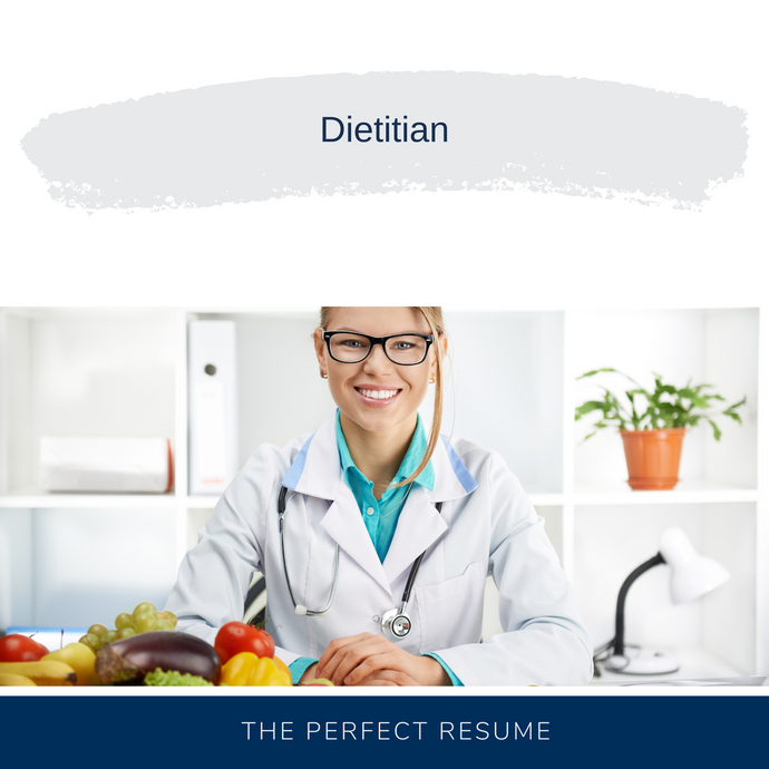 Dietitian Resume Writing Services