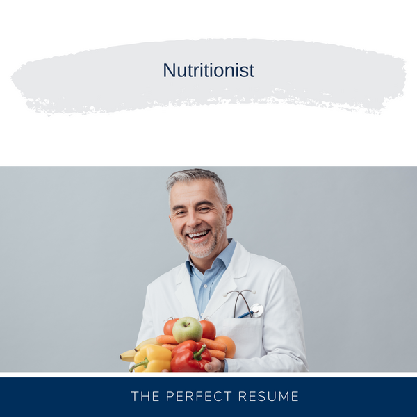 Nutritionist Resume Writing Services