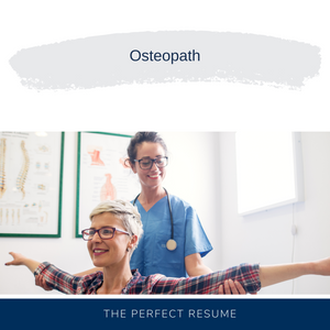 Osteopath Resume Writing Services