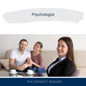 Psychologist Resume Writing Services