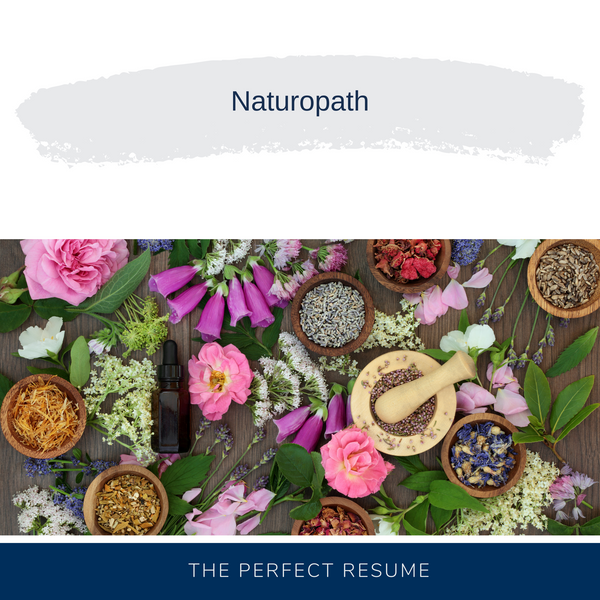 Naturopath Resume Writing Services