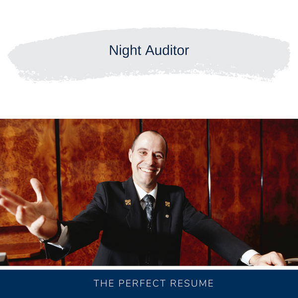 Night Auditor Resume Writing Services