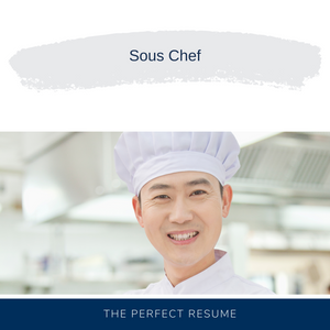 Sous Chef Resume Writing Services