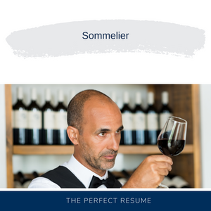 Sommelier Resume Writing Services