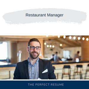 Restaurant Manager Resume Writing Services
