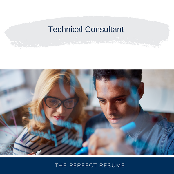 Technical Consultant Resume Writing Services