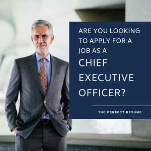 Chief Executive Officer Resume Writing Services