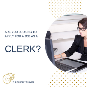 Clerk Resume Writing Services