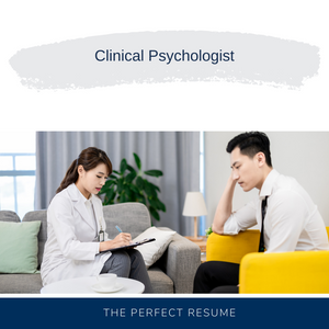 Clinical Psychologist Resume Writing Services