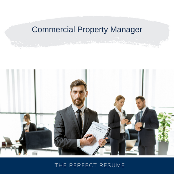 Commercial Property Manager Resume Writing Services