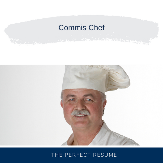 Commis Chef Resume Writing Services