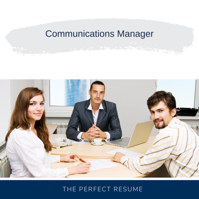 Communications Manager Resume Writing Services