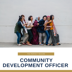 Community Development Officer Resume Writing Services