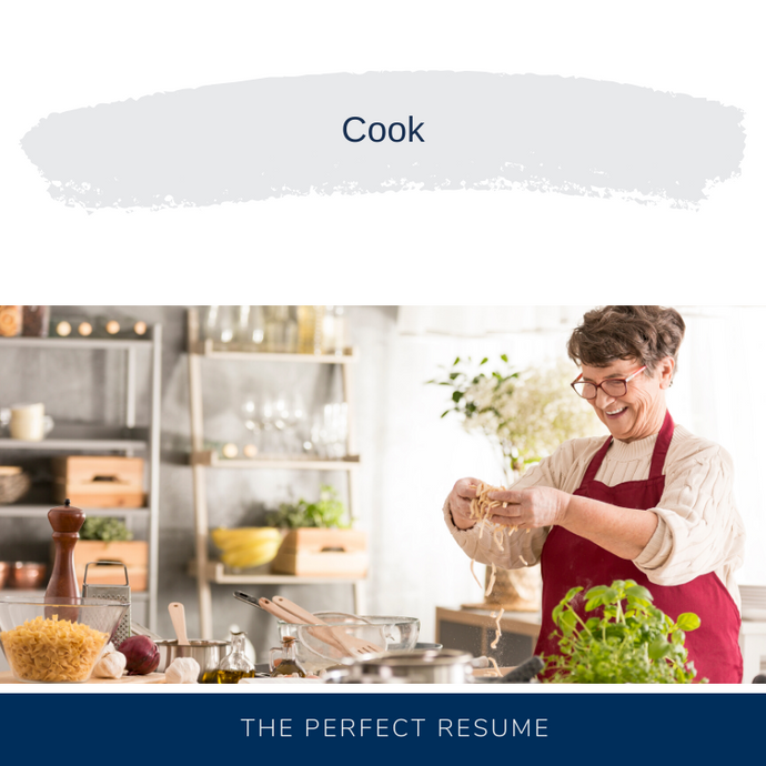 Cook Resume Writing Services