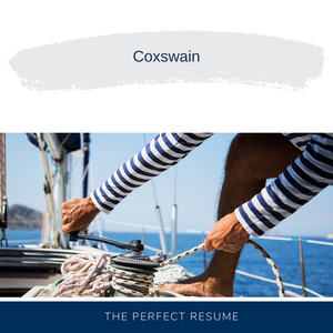 Coxswain Resume Writing Services