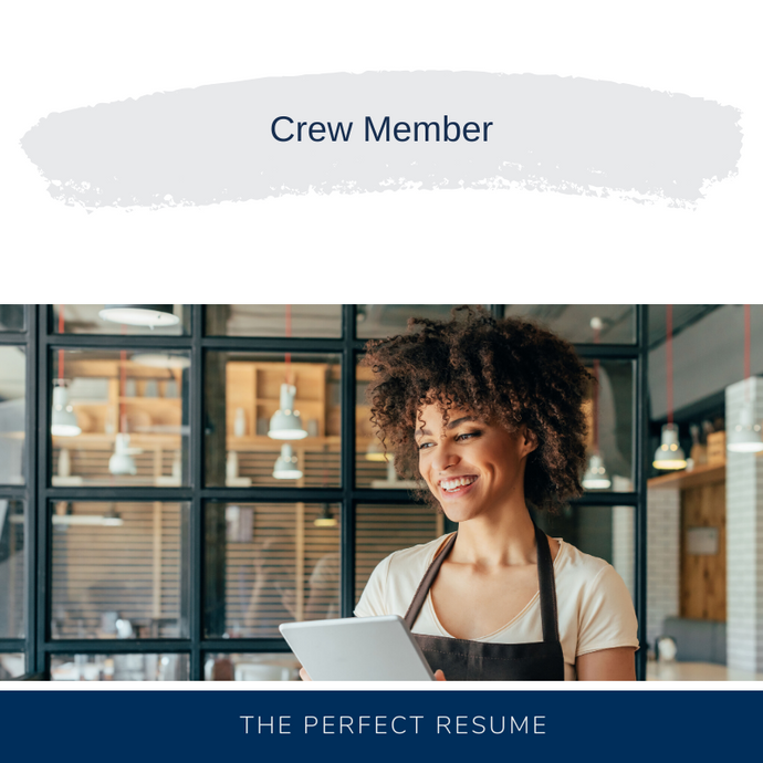 Crew Member Resume Writing Services