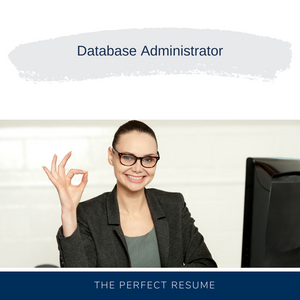 Database Administrator Resume Writing Services