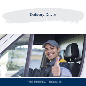 Delivery Driver Resume Writing Services